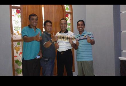 Kunjungan Bpk Dandim Palangkaraya Letkol Heri Supr
