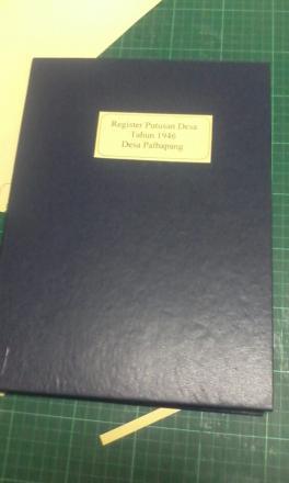 Restorasi arsip, Hasilkan tampilan buku yang menarik