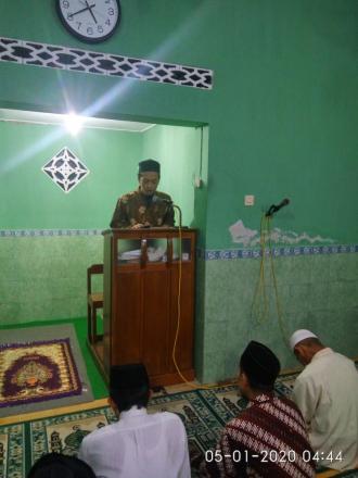 DBKS di Masjid Nurul Yaqiin Tajen