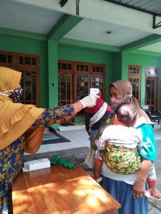 Posyandu balita bougainvillea Bolon2