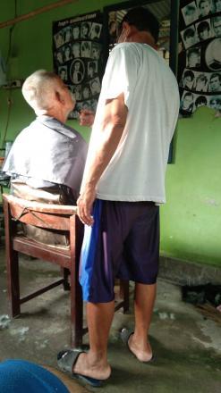 Tukang cukur Kamdani