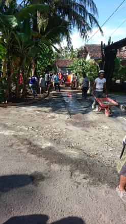 Cor Blok Jalan RT 005 Dagaran