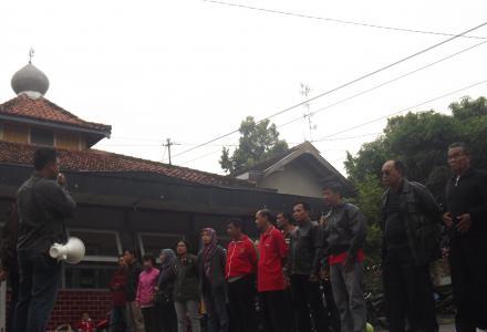 Kegiatan touring Pamong Desa Palbapang